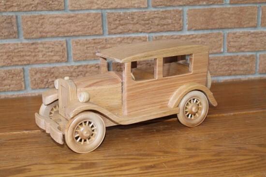 Model A hand carved Sedan
