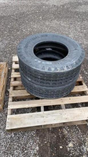Set-2 New 11L-16 F3 Turbo Backhoe Tires