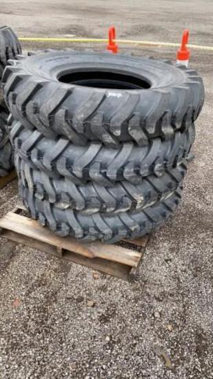(4) New 13.00-24 Loader/Grader Tires