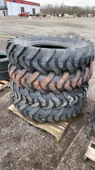 (4) New 14.00-24 Loader/Grader Tires