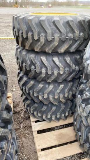 Set-4 New 10-16.5 Tires/Wheels