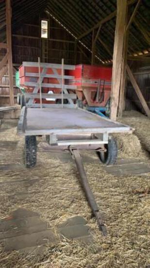 16' Flatbed Hay Wagon