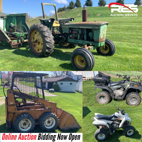 Troyer Equipment Auction