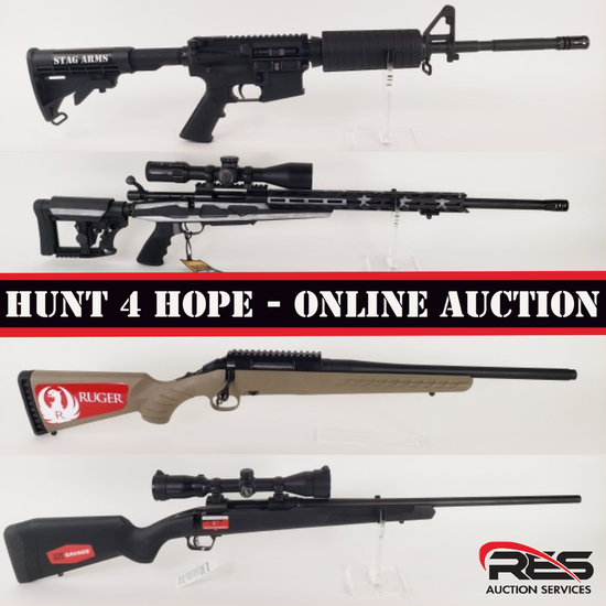 Hunt 4 Hope Online Only Benefit Auction