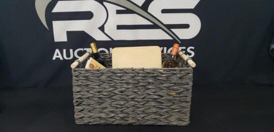 Gray Wine/Food Basket