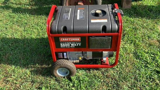 Craftsman 5600w generator