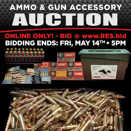 RES Ammo & Accessories Online Auction