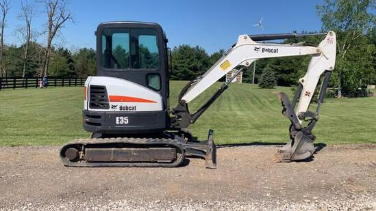 2017 Bobcat E35 Mini Excavator