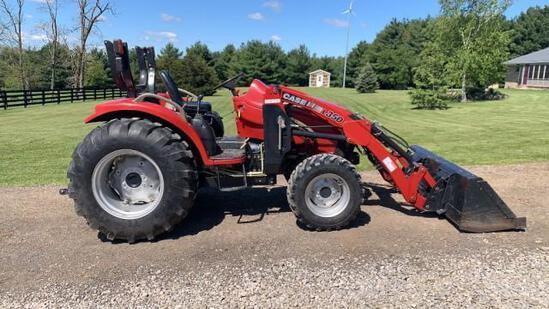 Case Farmall 40 Tractor w/ L350 Loader