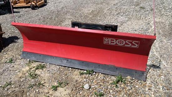 Boss 8' Quick Attach Snow Plow
