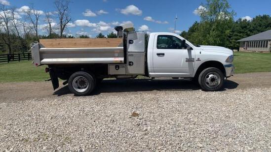 2015 Dodge Ram 4500 HD Dump Truck