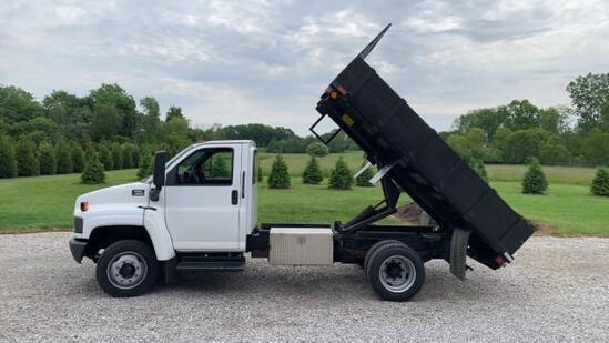 2003 GMC C4500 Dump Truck
