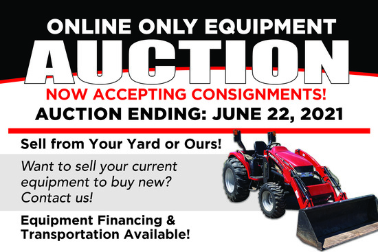RES Online Only Equipment Auction
