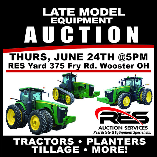 Late Model Equipment Auction
