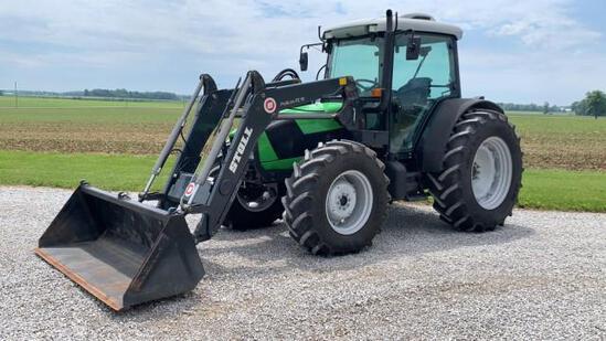 2015 Deutz-Fahr Agrofarm 420 MFWD Tractor