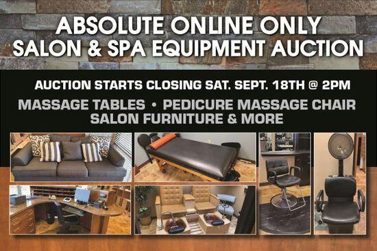 Online Only Salon & Spa