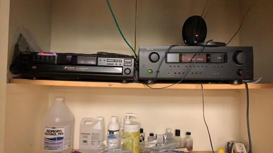 Sony 5 Cd Changer & Denon Stereo