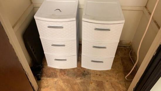 2 - Plastic Organizer
