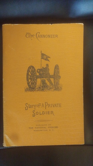1897 The Cannoneer Story of a Private Soldier