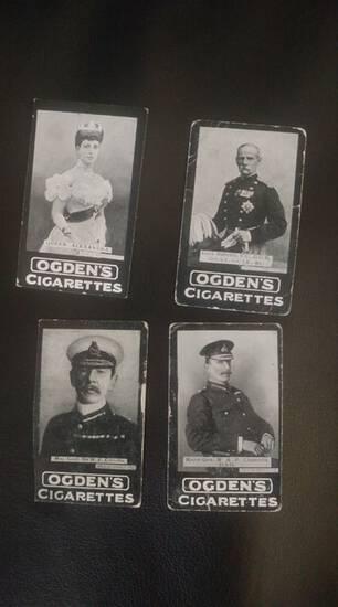 1902 Ogden's Cigarettes cards