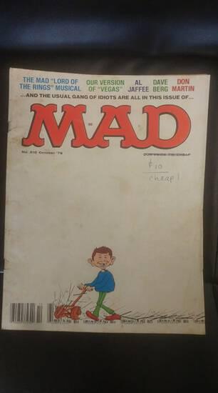 October 1979 Mad magazine