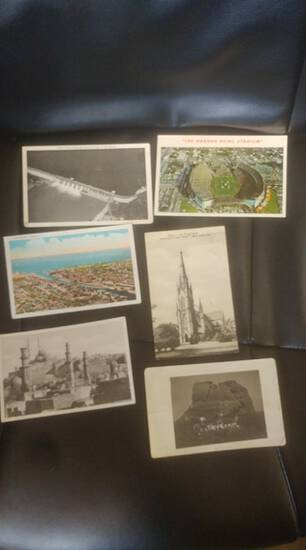 Lot of old postcards