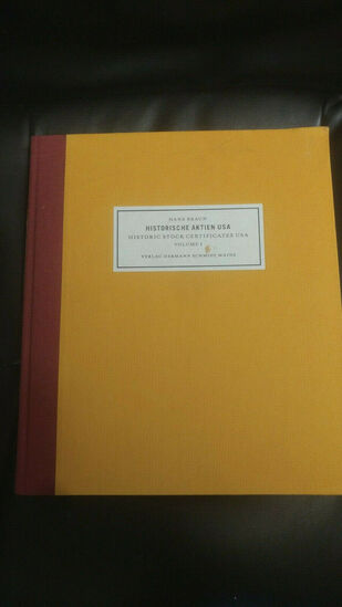 Historic Stock Certificates 296 page book