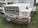 Ford F700 4 door diesel