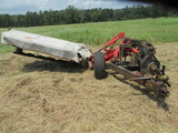 Kuhn gmd700 hay cutter with dolly