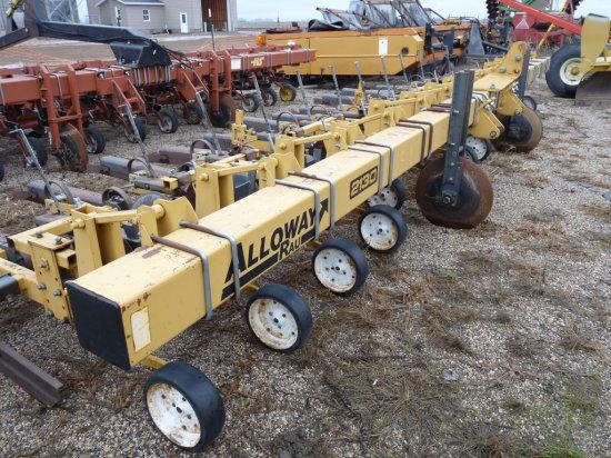 "Alloway #2130 12 Row 22"" Cultivator"
