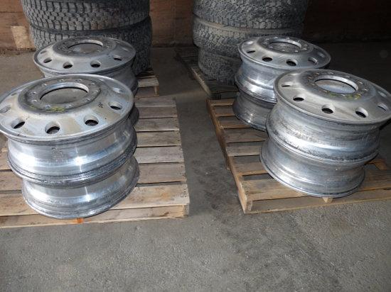 24.5 Aluminum Pilot Rims