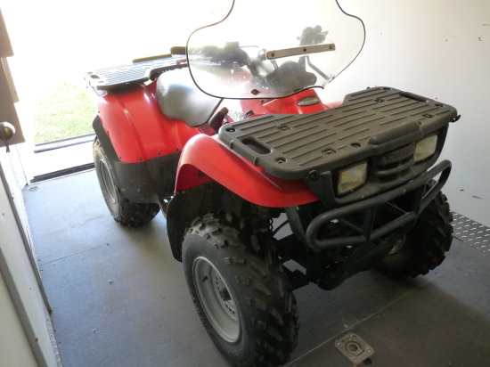 '02 Kawasaki Prairie 300 4-Wheeler