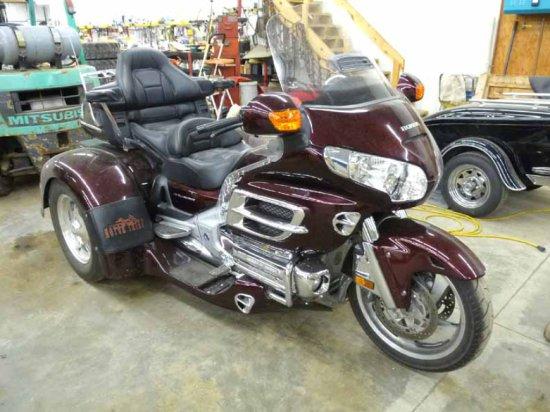'06 Honda Goldwing 1800cc Trike