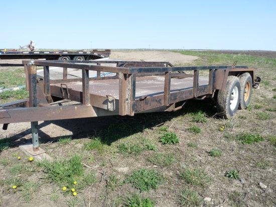 18' Tandem Axle Car Trailer