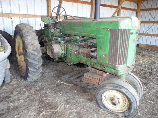 John Deere #60 Narrow Front Tractor
