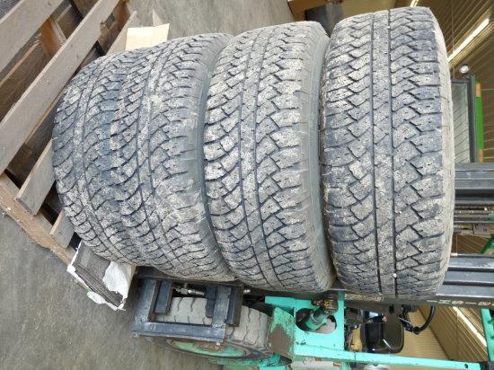 (4) P-265/65R18 Bridgestone Tires