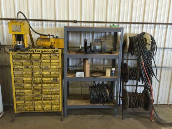 Hyrdaulic Hose Fitting Machine