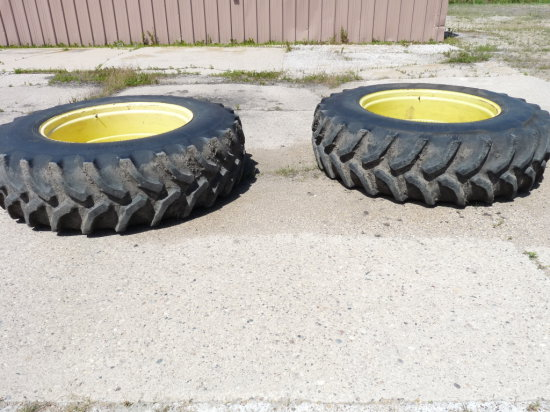 """Set of 10"""" Hub Extensions and Duals for Combine"""