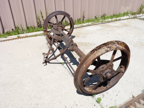 Steel Wheel Wide Front for F-12
