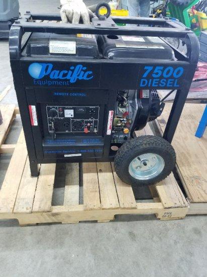 Pacific 7500 Watt Diesel Generator