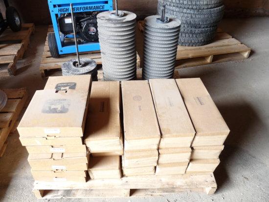 John Deere Maxi Merge Beet & Soybean Seed Plates & Tubes