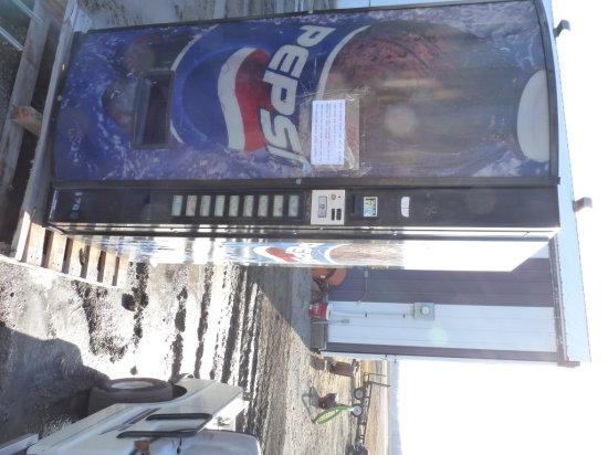 Outdoor Pepsi Vending Machine