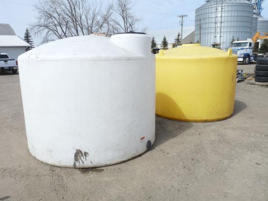 1650 Gallon Poly Tank