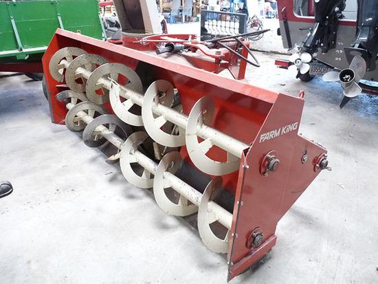 Farm King 960 8' 3 PT Snow Blower