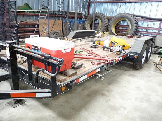 2010 ADU 14,000 lb Tandem Axle Trailer