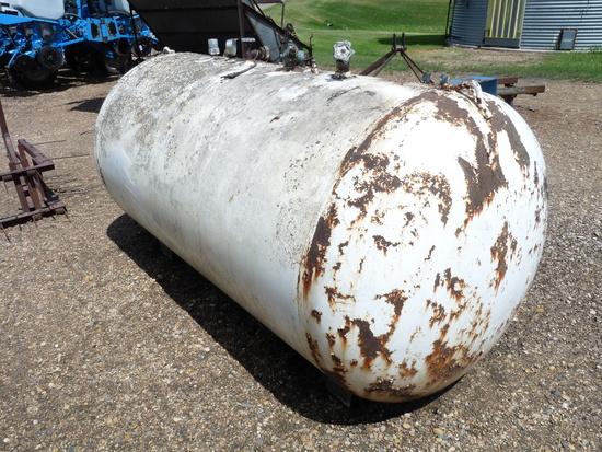 500 Gallon Ammonia Tank