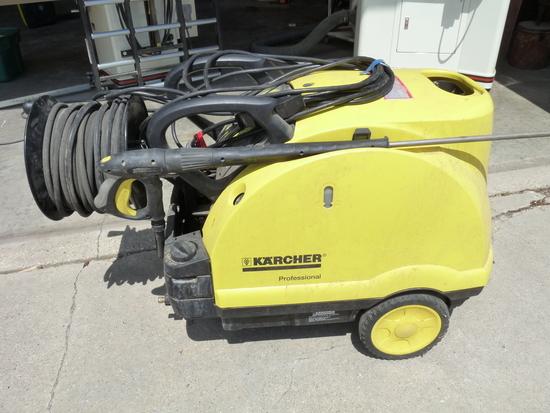 Karcher 220 Volt Hot Water Washer