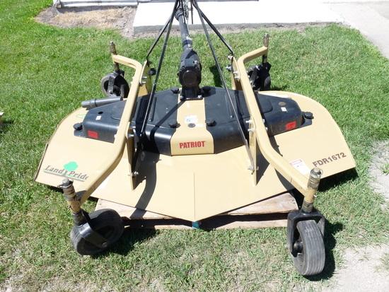 Land Pride FDR1672 3pt Finishing Mower