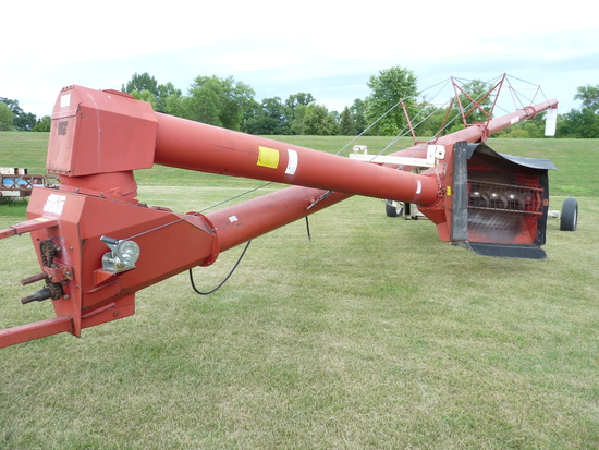 Farm King 13x71' Mechanical Swing Out Auger