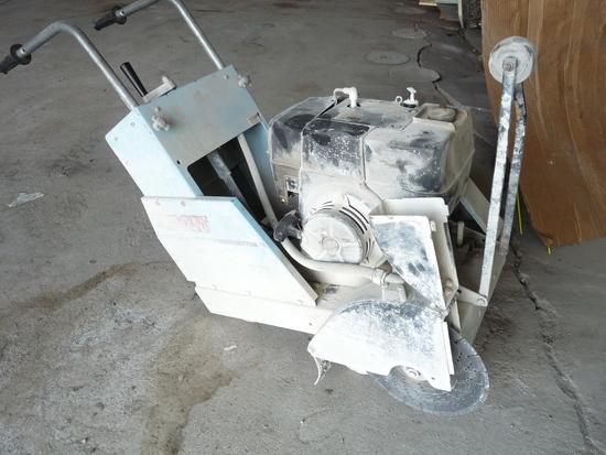 Gas Powered Concrete Saw